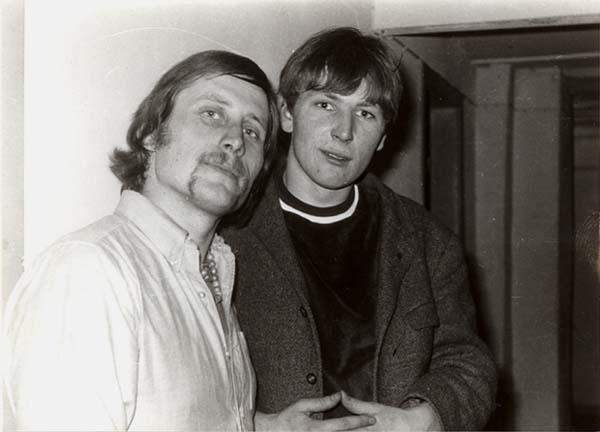 Horst Ebert (The Petards) und Peter Teipel (Les Corbeaux)